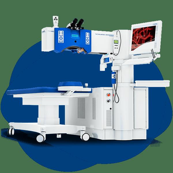 Laser per chirurgia occhi