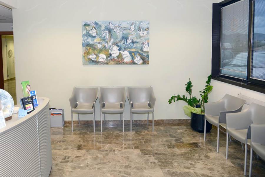 Sala d'attesa del centro Mythril